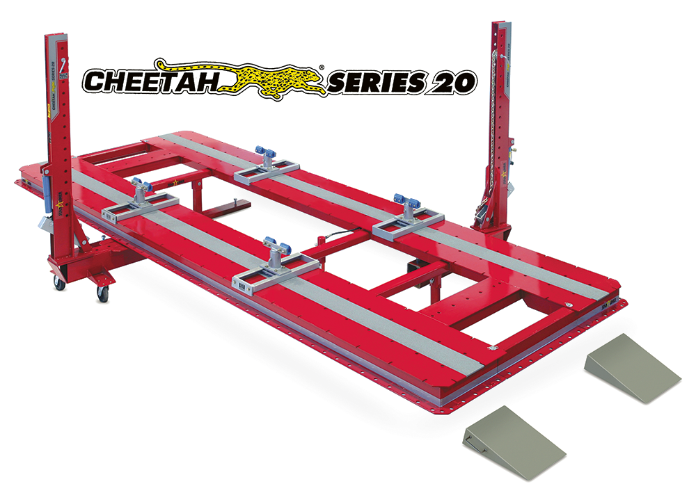 cheetah 360 ii frame machine