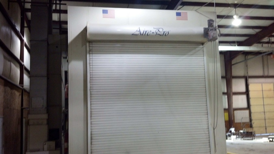 Used Garmat Truck Spray Booth Pro Line Systems