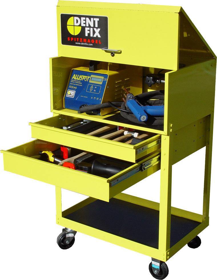 Dent fix aluminum dent repair station pro line systems for Pro equipement restauration