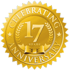 pro line systems 17th anniversary seal