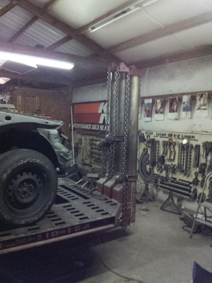 Used Chief Frame Machine