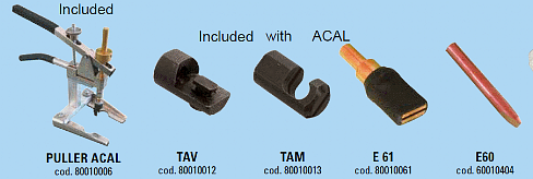 ACAL Puller with attachments