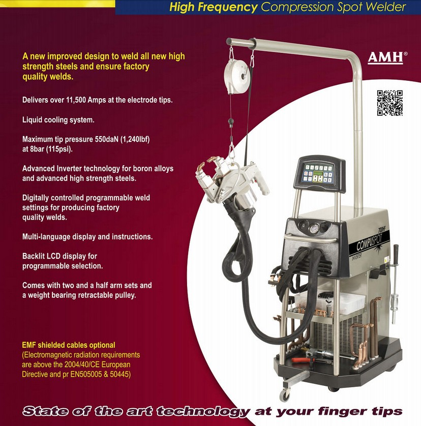 Compuspot 700HF - Pro Line Systems International Inc- Auto Body Shop