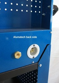 Alumatech electrical and air inlets