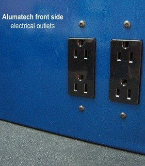 Alumatech workstation electric connections