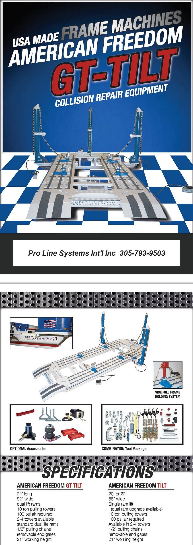 American Freedom Tilt Frame Machine - Pro Line Systems International ...