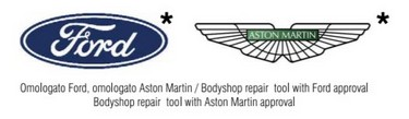 Ford - Aston Martin Approved Equipment Logos