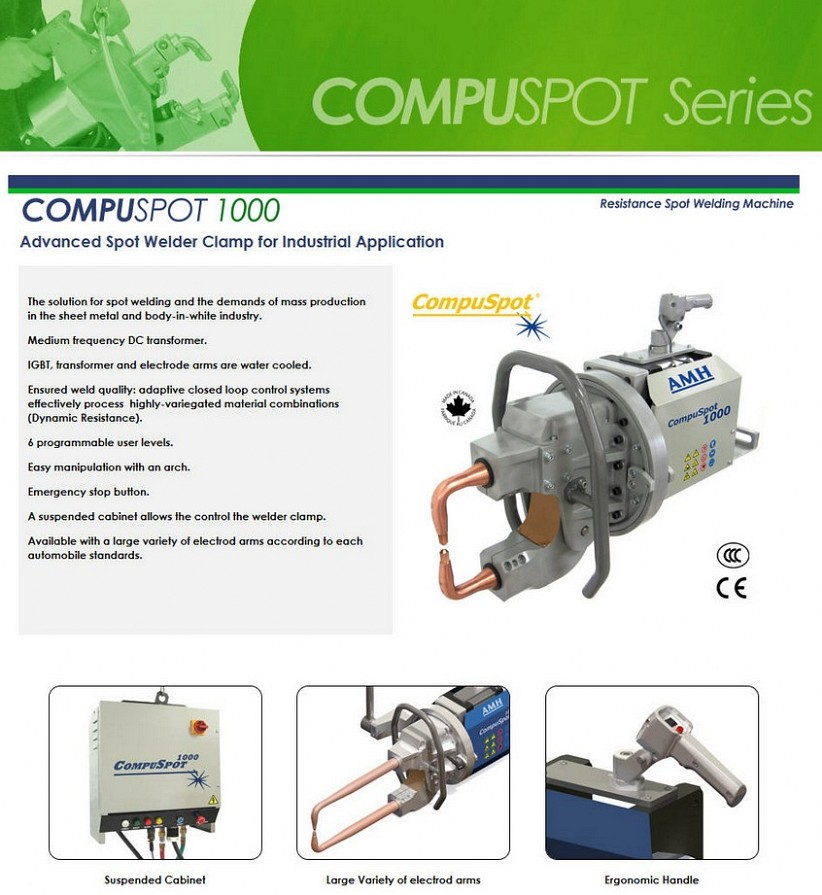 Compuspot 1000 Industrial Series