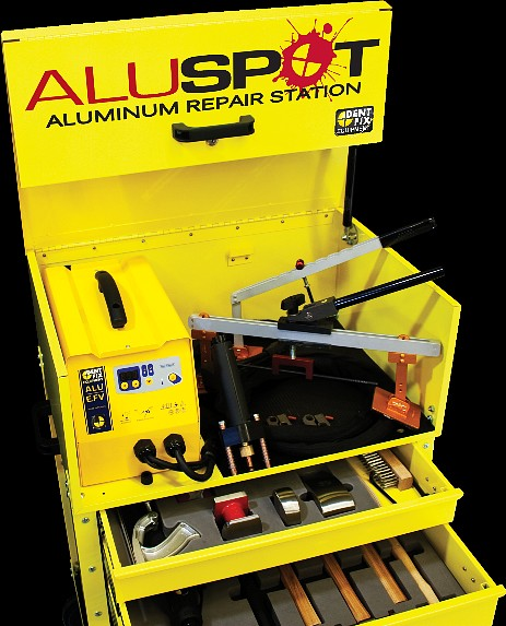Dent Fix Ford Approved Aluminum Repair Station