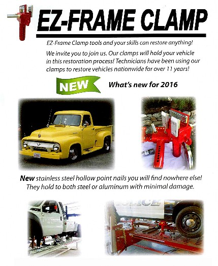 EZ Frame Clamp New 2016 Brochure