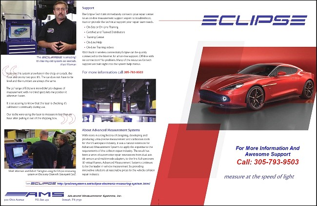 Eclipse Measuring System Brochure 1