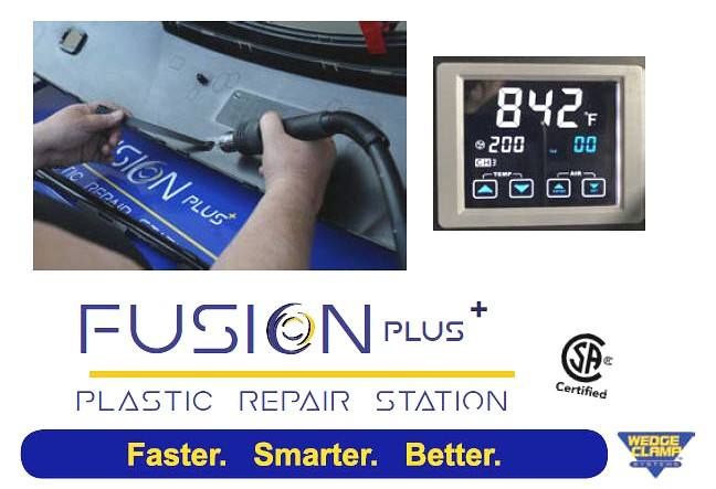 Fusion Plus Plastic Welder by Wedge Clamp WS-1000