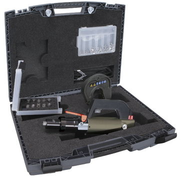 GYSPRESS 8T SPR Rivet Gun With Case And Accessories