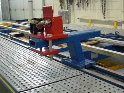EZ Clamp for Car O Liner frme rack