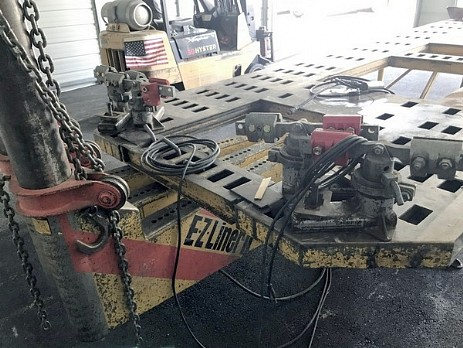 Used Body Shop Equipment Pro Line Systems International
