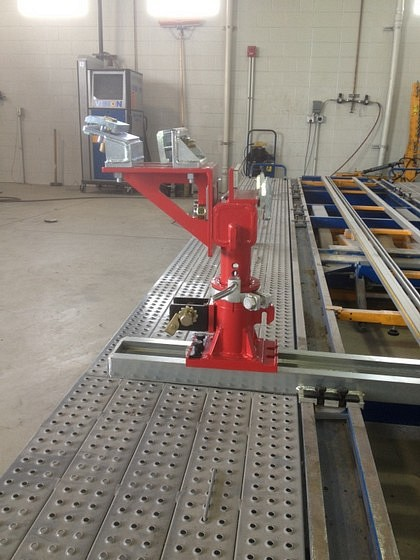 EZ Frame Clamp On Car O Liner Machine