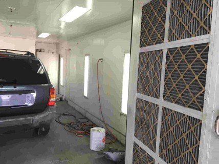 Used Spray Booth by Viking