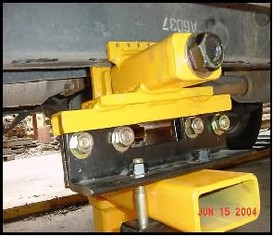 Universal Truck holding clamp in anchor stand