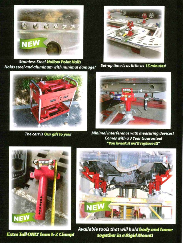 New EZ Truck Frame Clamp 2016