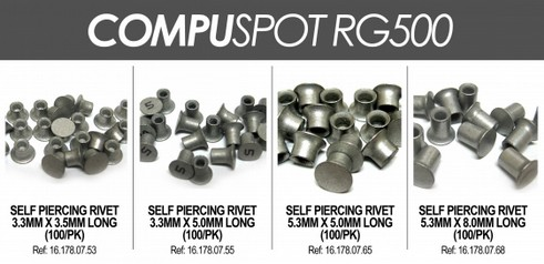 Self Piercing Rivets For Ford F-150 Repairs