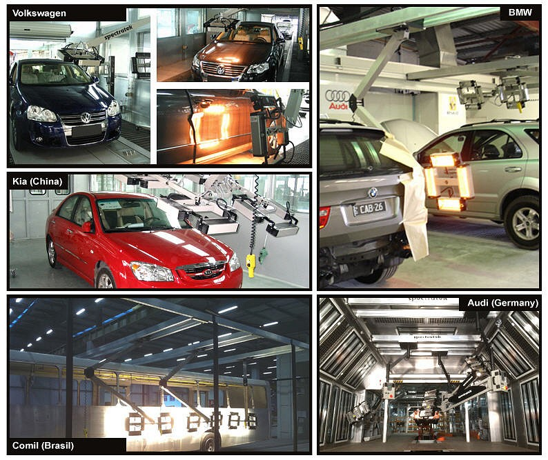 Spectratek Factory Installations at BMW, Audi, Volkswagen