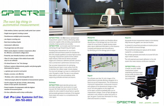 Spectre Brochure Page 1
