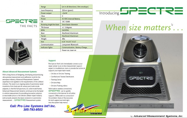Spectre Brochure Page 2