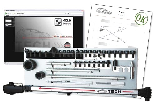 Allvis tech D measuring device