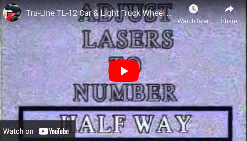 Tru-Line TL12 Wheel Alignment Introduction Video