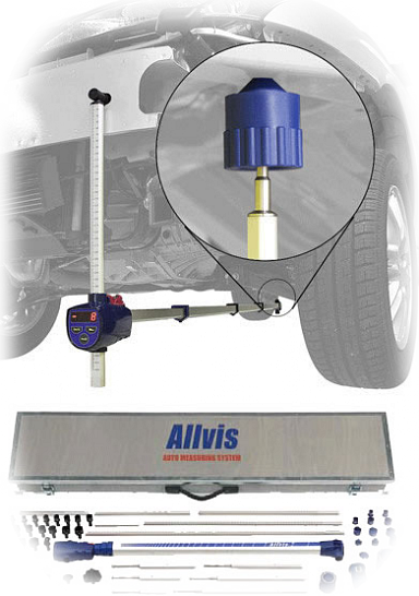 ALLVIS Measuring System on car