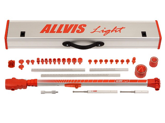 ALLVIS Light Measuring System components