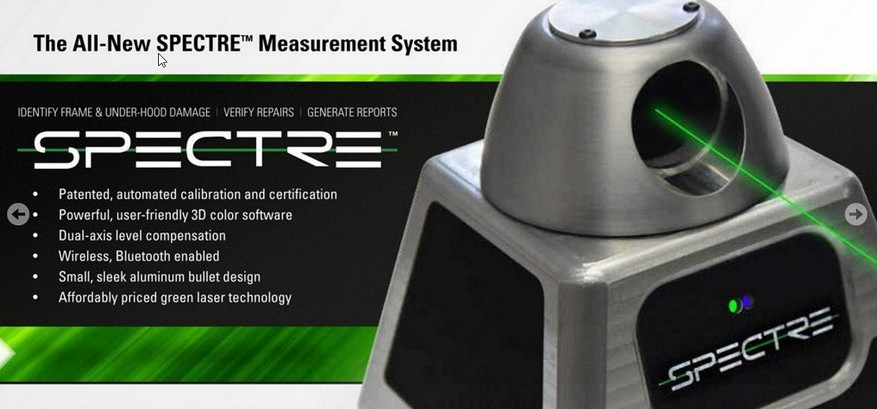 Electronic Measuring Equipment : Spectre electronic measuring system pro line systems