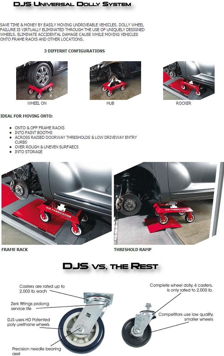 Car Wheel Dolly Comparison
