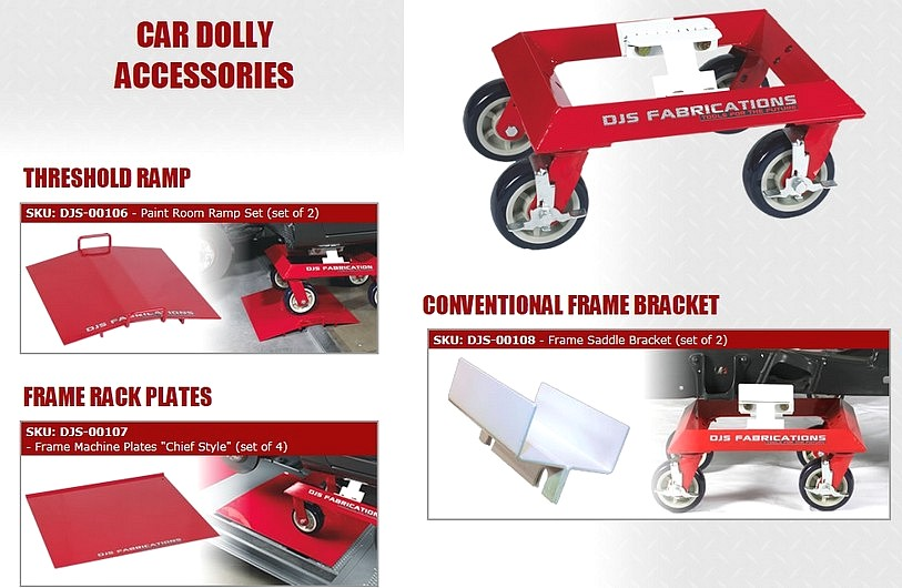 Car Moving Dolly Accessories
