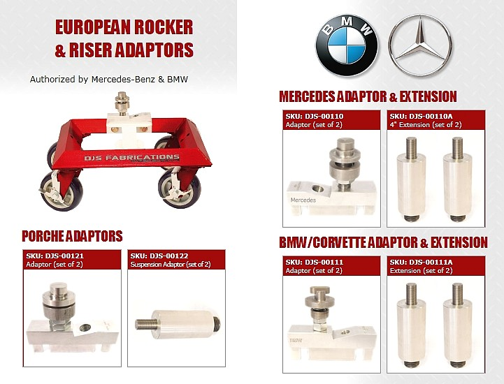 BMW & Mercedes Approved Adapters
