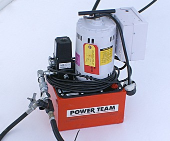 Power Team Frame Machine Pump
