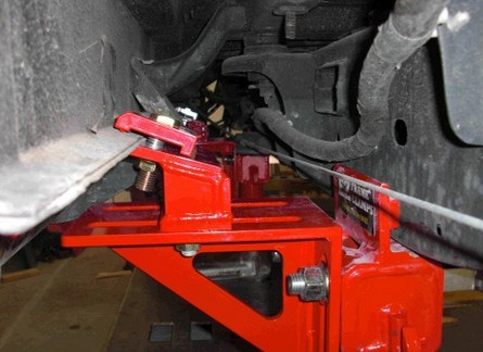 FORD F-150 EZ Frame Clamp Adapters Photos