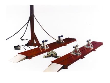 a liner frame machine