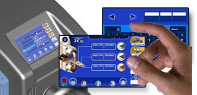 spot welder digital touch screen