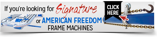american freedom deluxe frame machines