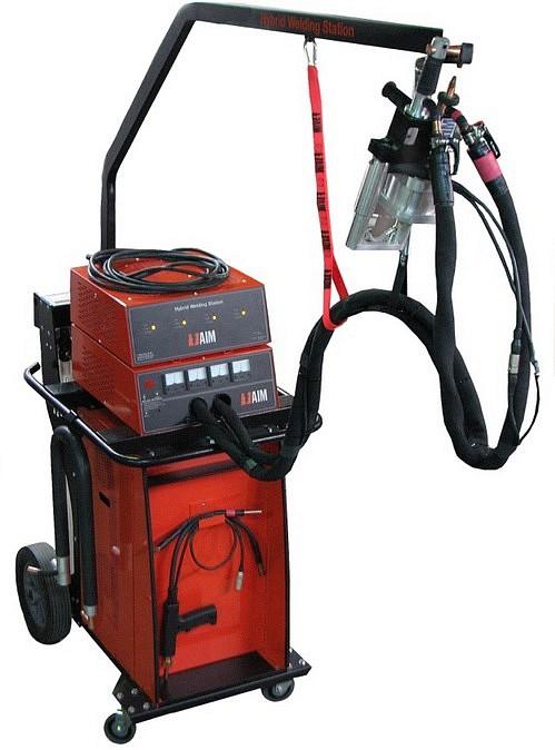 Aim Hybrid Battery Spot Welder Pro Line Systems