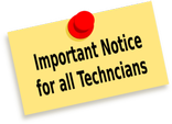 Technician Notice