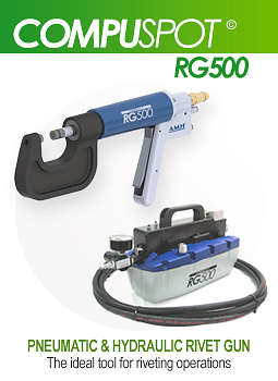 RG500 Self Piercing Rivet Gun