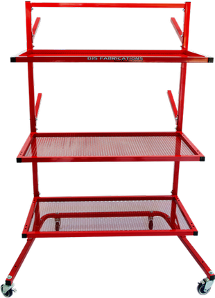 DJS Car Parts Rack Stand
