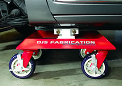 car dolly pinchweld